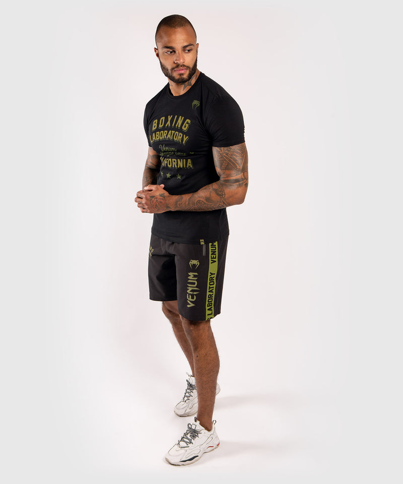 Venum Boxing Lab T-shirt - Black/Green picture 7