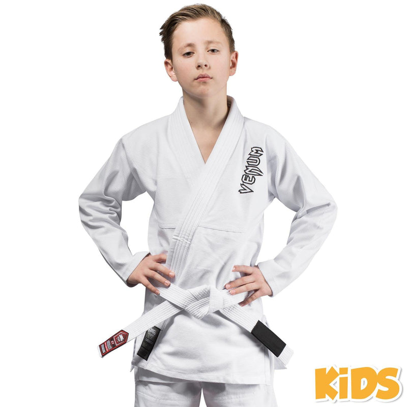 Venum Contender Kids BJJ Gi (Free white belt included) - White picture 1