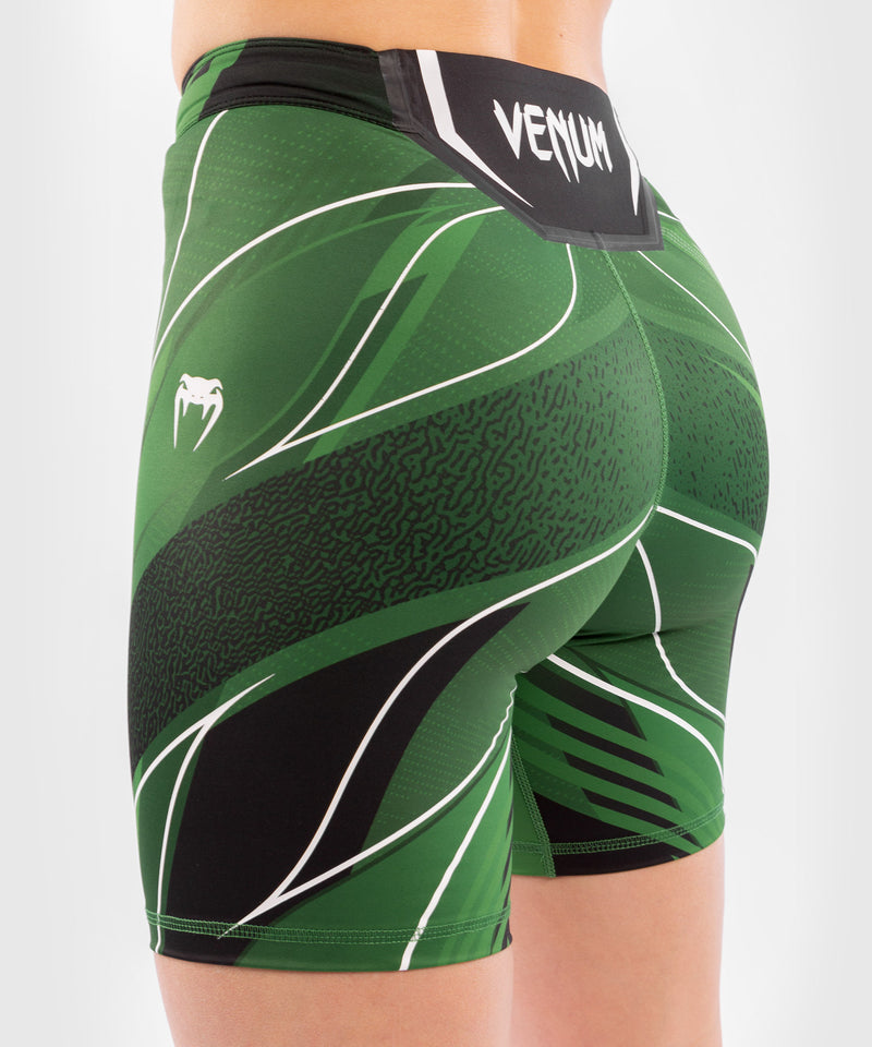 UFC Venum Authentic Fight Night Women's Vale Tudo Shorts - Long Fit – Green Picture 6