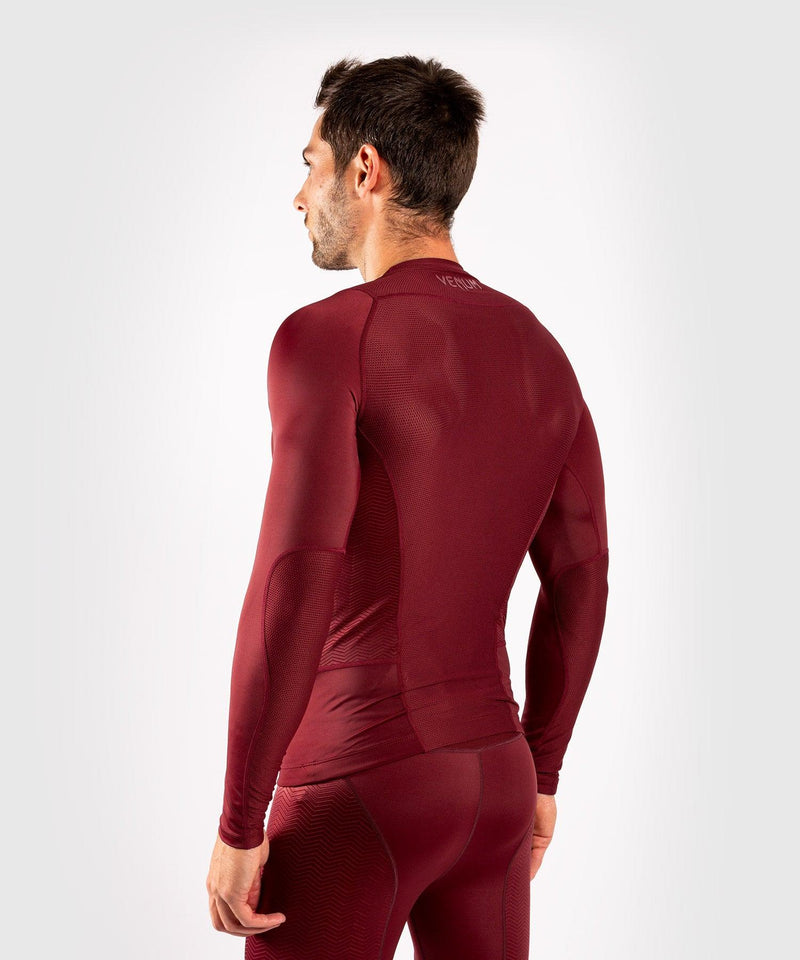 Venum G-Fit Rashguard - Long Sleeves - Burgundy picture 3