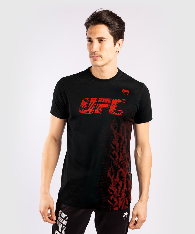 UFC Venum Authentic Fight Week Men's Short Sleeve T-shirt – Black Picture 1