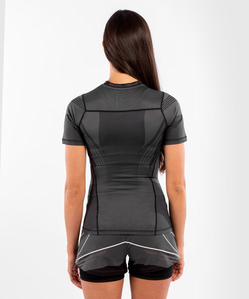 UFC Venum Authentic Fight Night Women's Rashguard – Black Picture 2