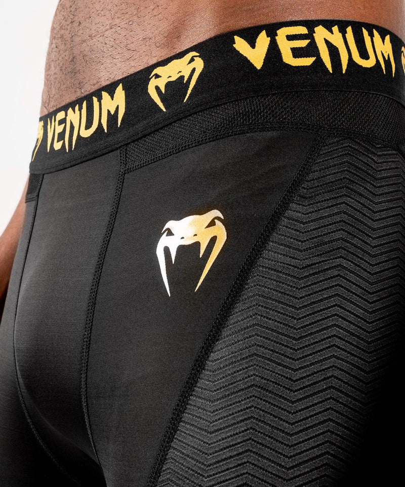 Venum G-Fit Spats – Black/Gold picture 6