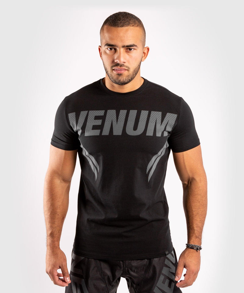 Venum ONE FC Impact T-shirt - Black/Black - picture 1