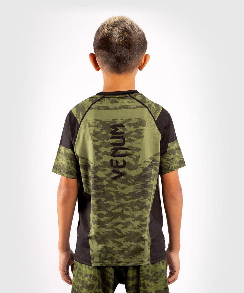 Venum Trooper Kids Dry-Tech T-shirt - Forest camo/Black picture 2