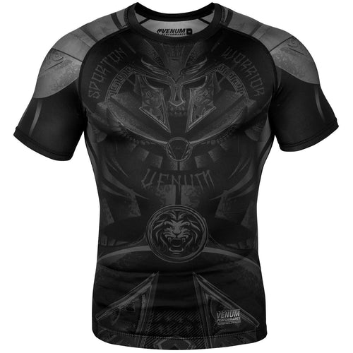 Venum Gladiator 3.0 Rashguard - Short Sleeves – Black/Black picture 1