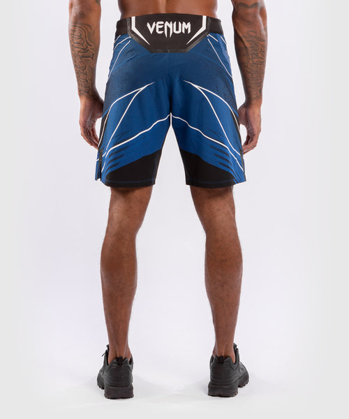 UFC Venum Authentic Fight Night Men's Shorts - Long Fit – Blue Picture 2