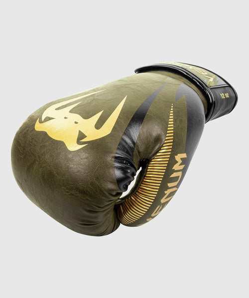 Venum Impact Boxing Gloves – Khaki/Gold picture 2