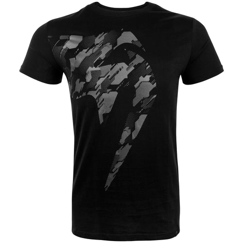 Venum Tecmo Giant T-shirt – Black/Grey picture 1