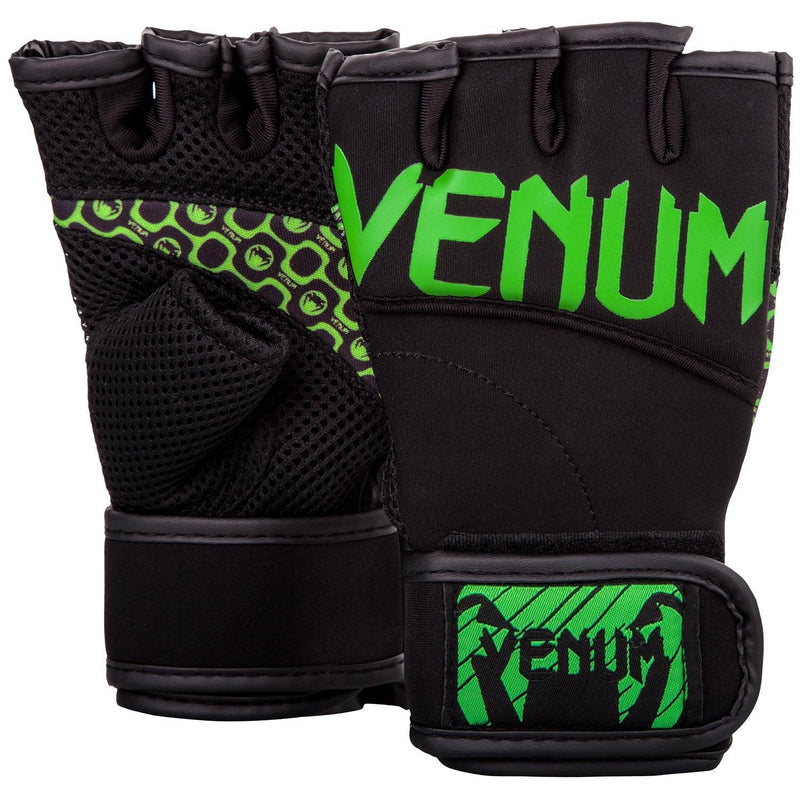 Venum Aero Body Fitness Gloves - Black/Neo Yellow picture 1