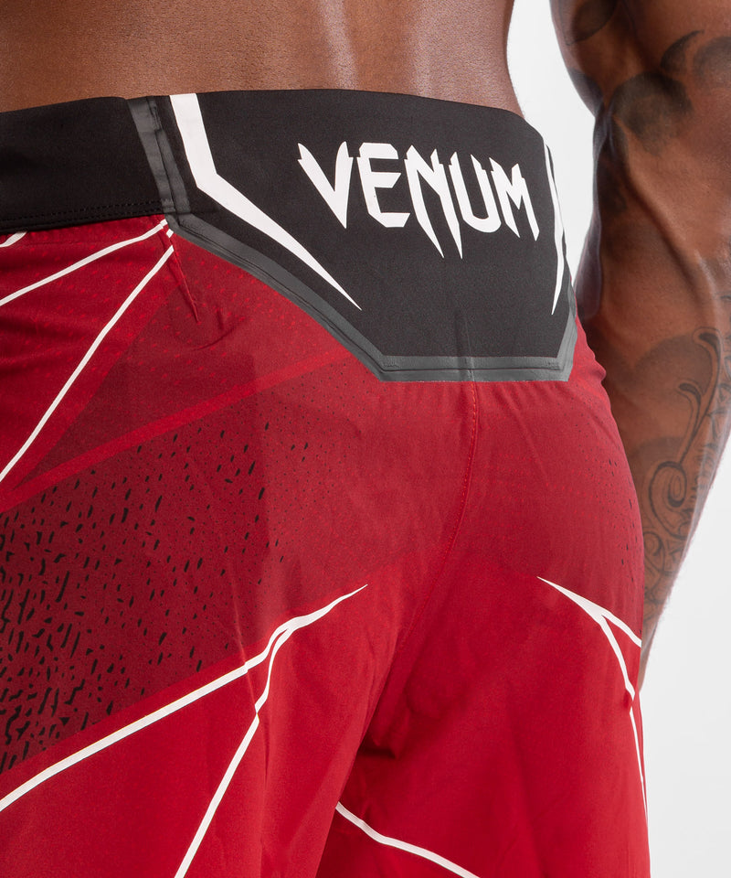 UFC Venum Authentic Fight Night Men's Shorts - Long Fit – Red Picture 6