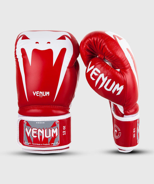 Venum Giant 3.0 Boxing Gloves - Nappa Leather - Red picture 1