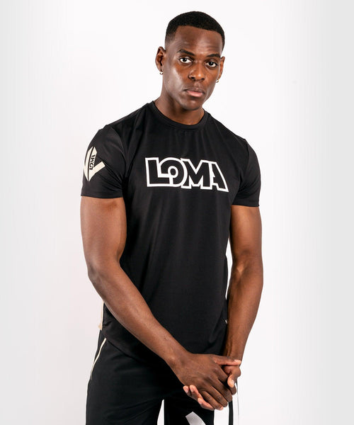 Venum Origins Dry Tech T-shirt - Black/White picture 1