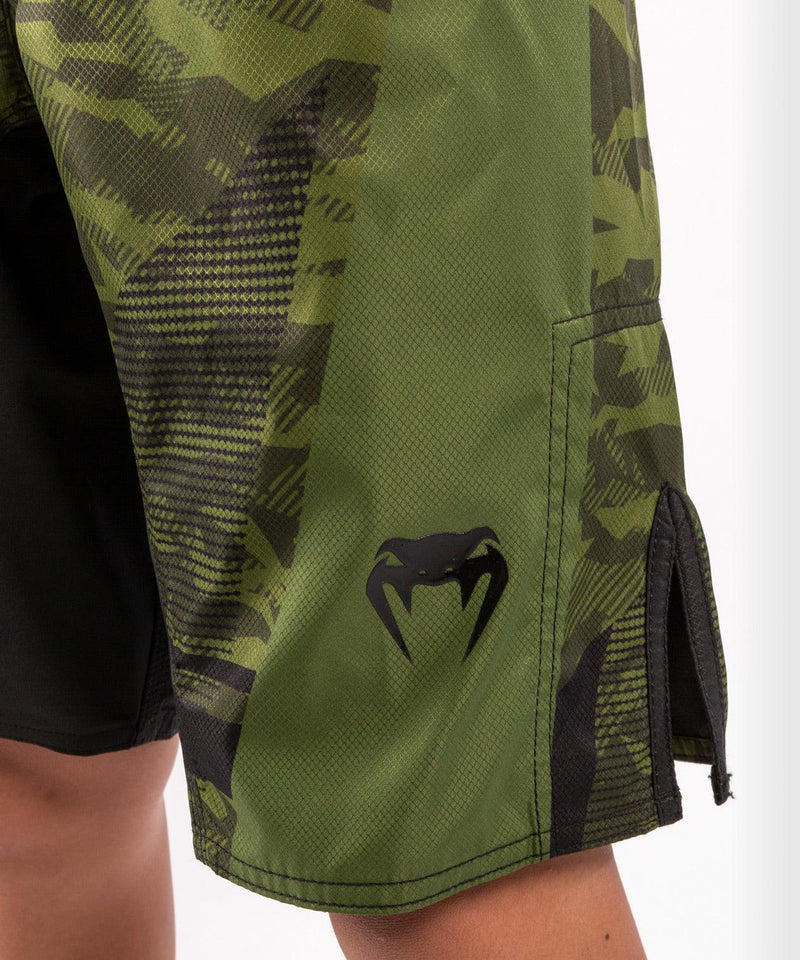 Venum Trooper Kids Fightshorts - Forest camo/Black picture 7