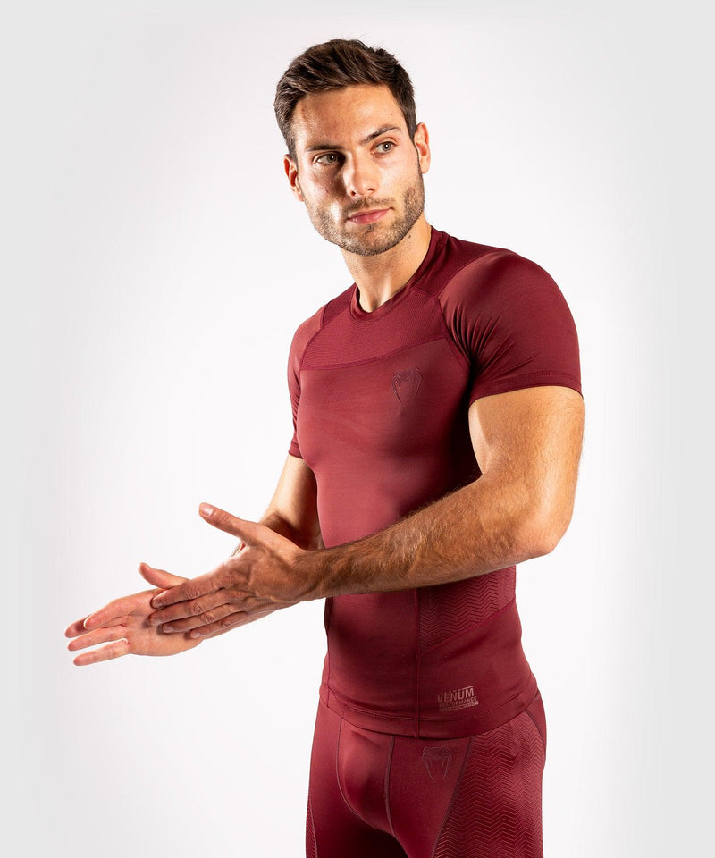Venum G-Fit Rashguard - Short Sleeves - Burgundy picture 3