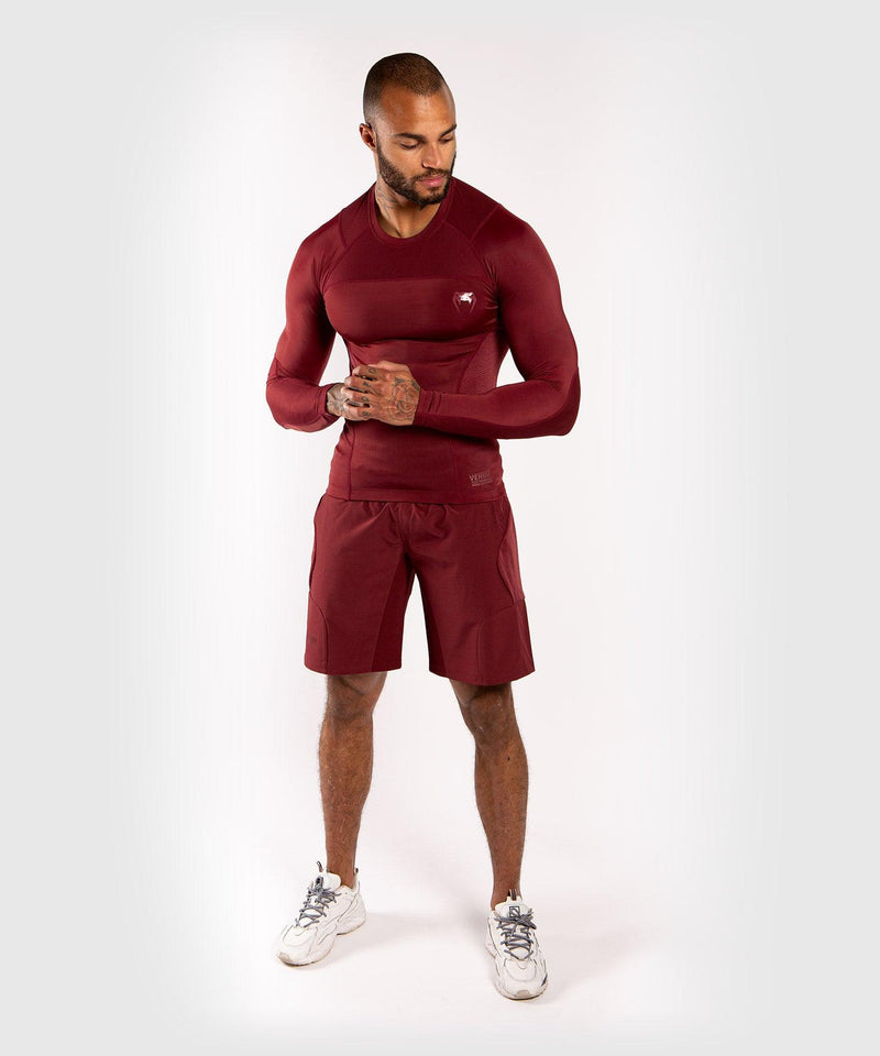 Venum G-Fit Training Shorts - Burgundy picture 8