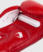 Venum Giant 3.0 Boxing Gloves - Nappa Leather - Red picture 4