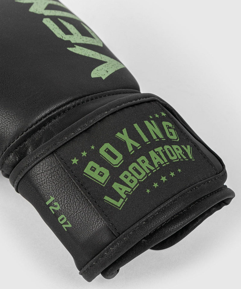 Venum Boxing Lab Gloves - Black/Green picture 5