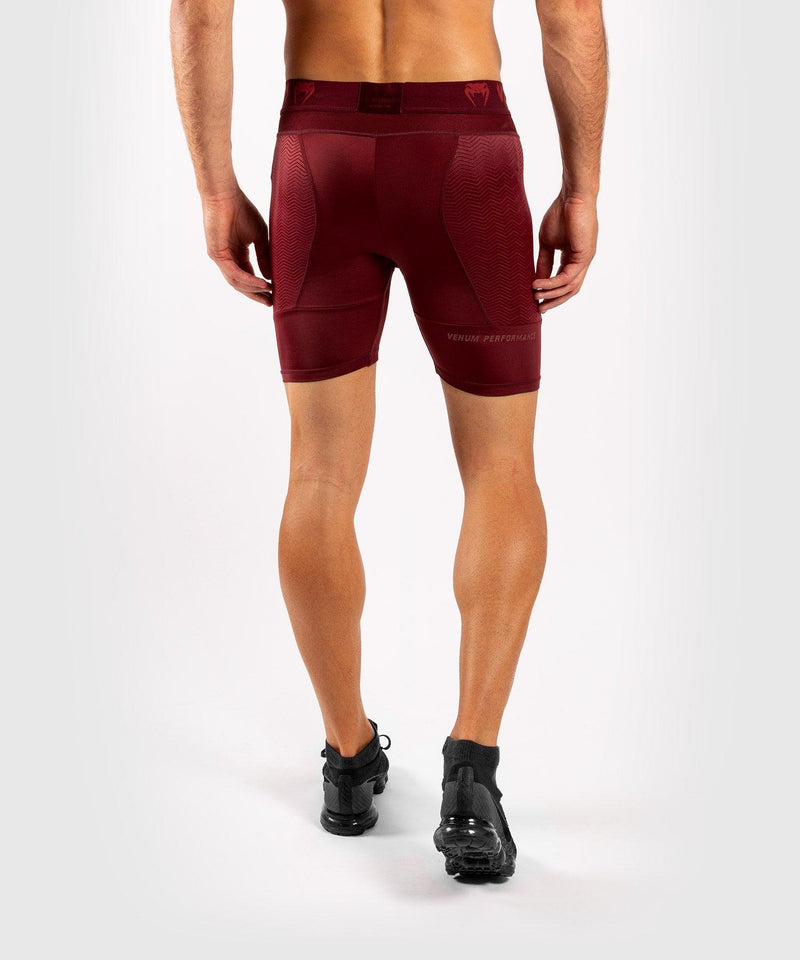 Venum G-Fit Compression Shorts - Burgundy picture 2