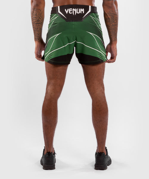 UFC Venum Authentic Fight Night Men's Shorts - Short Fit – Green Picture 2