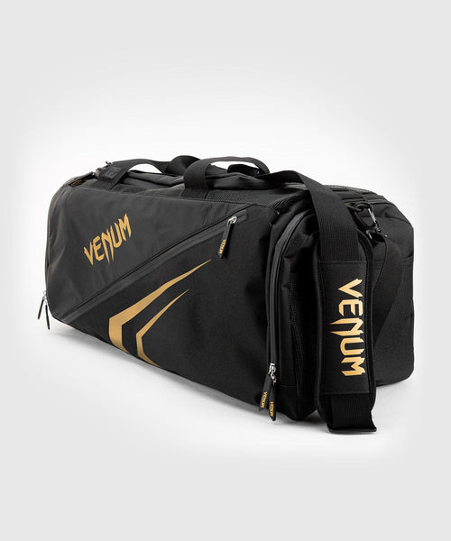 Venum Trainer Lite Evo Sports Bags - Black/Gold picture 1