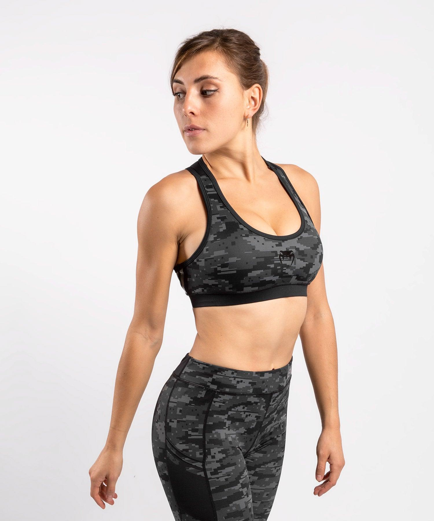 Venum Power 2.0 Sport Bra - For Women - Urban digital camo - picture 1