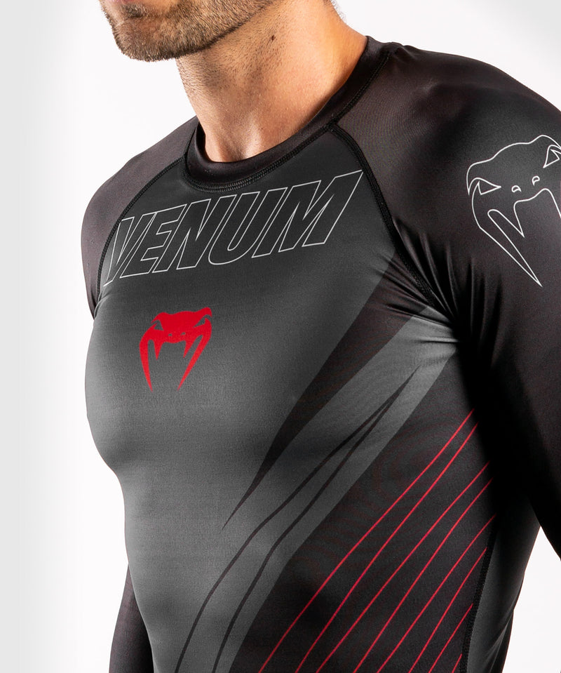 Venum Contender 5.0 Rashguard - Long sleeves - Black/Red picture 5