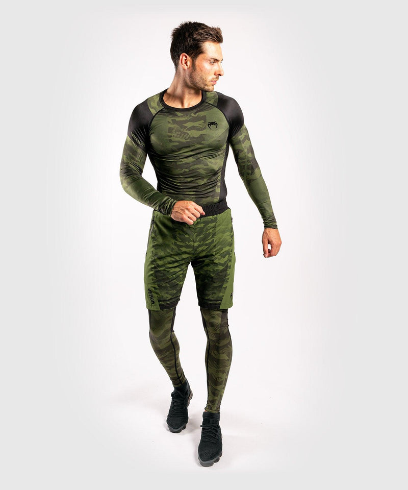 Venum Trooper Rashguard - Long sleeves - Forest camo/Black picture 6