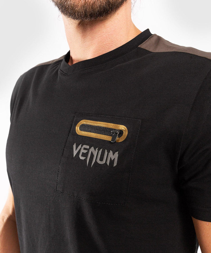 Venum Cargo T-shirt - Black/Grey picture 7