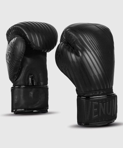 Venum Plasma Boxing Gloves – Black/Black picture 1