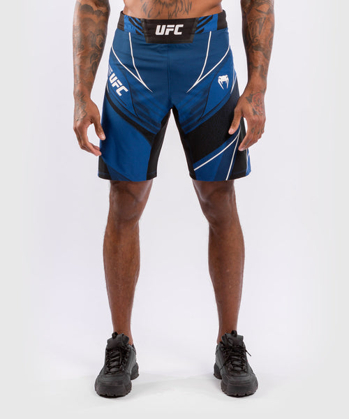 UFC Venum Authentic Fight Night Men's Shorts - Long Fit – Blue Picture 1