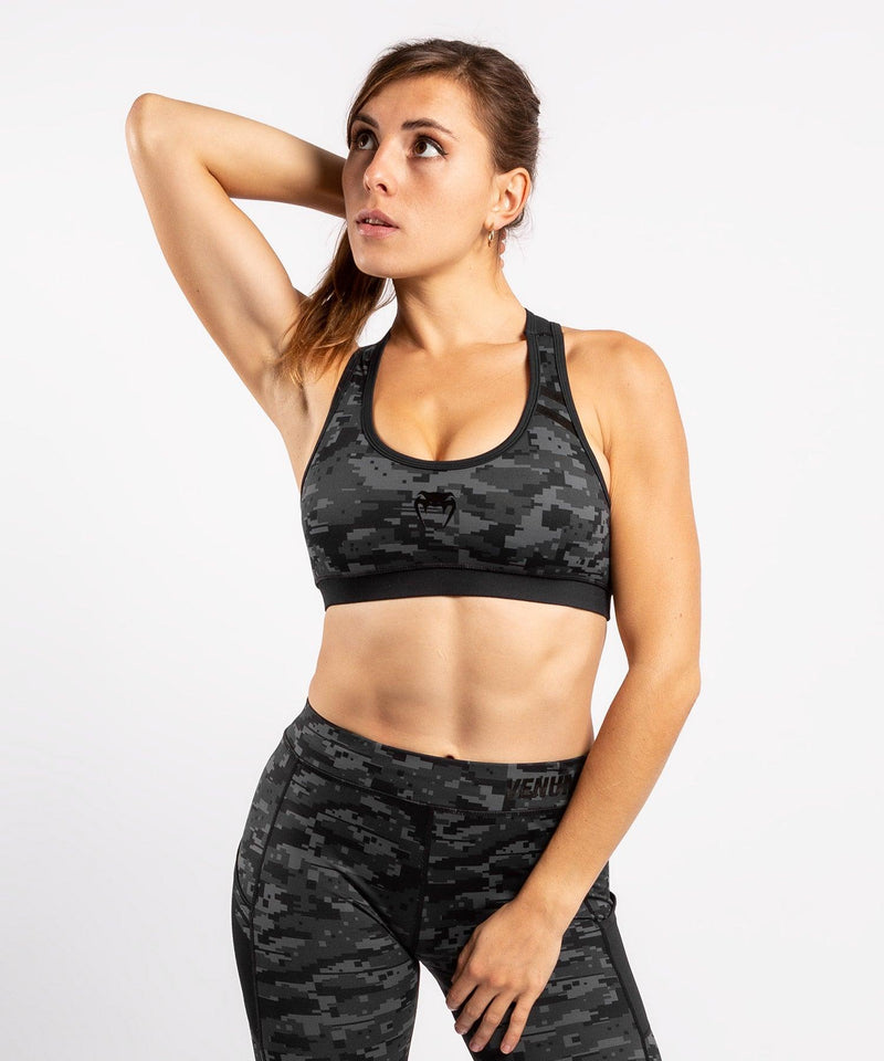 Venum Power 2.0 Sport Bra - For Women - Urban digital camo - picture 3