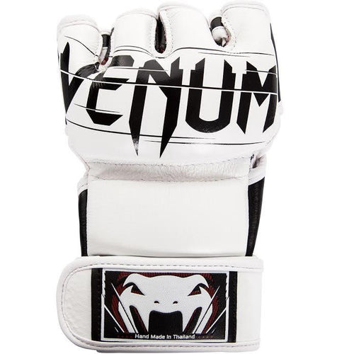 Venum Undisputed 2.0 MMA Gloves - Nappa Leather – White picture 2