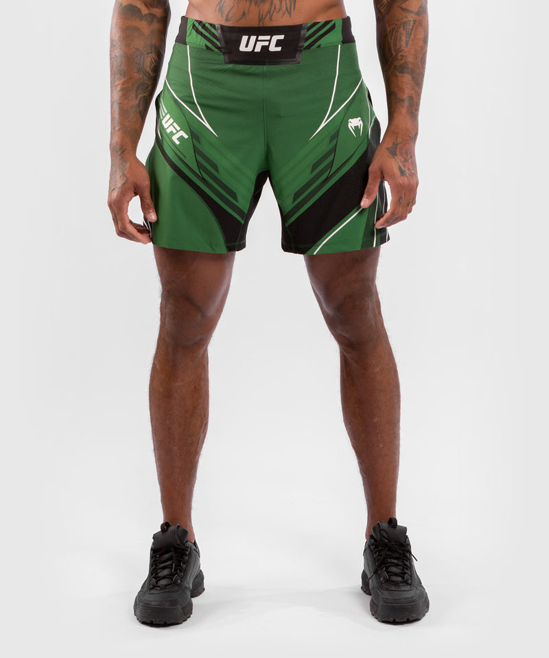 UFC Venum Authentic Fight Night Men's Gladiator Shorts – Green Picture 1