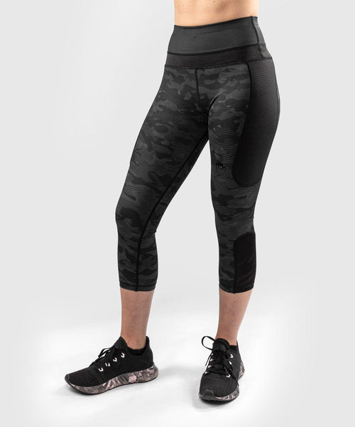 Venum Defender Crop Leggings - for women - Black/Black picture 1