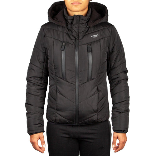 Venum Runner Down Jacket - For Women - Black – Exclusive picture 1
