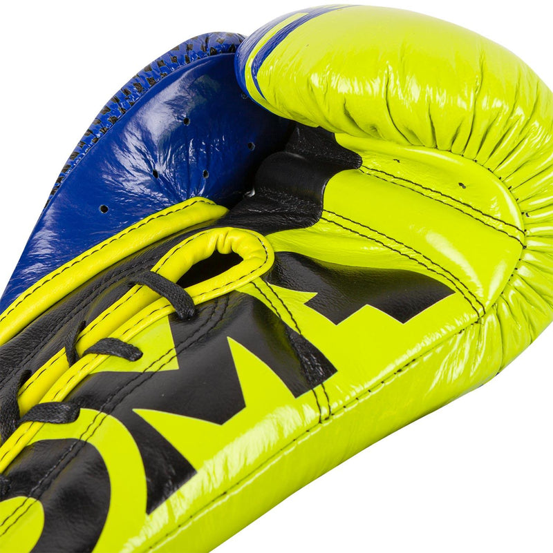 Venum Shield Pro Boxing Gloves Loma Edition - With Laces – Blue/Yellow picture 4