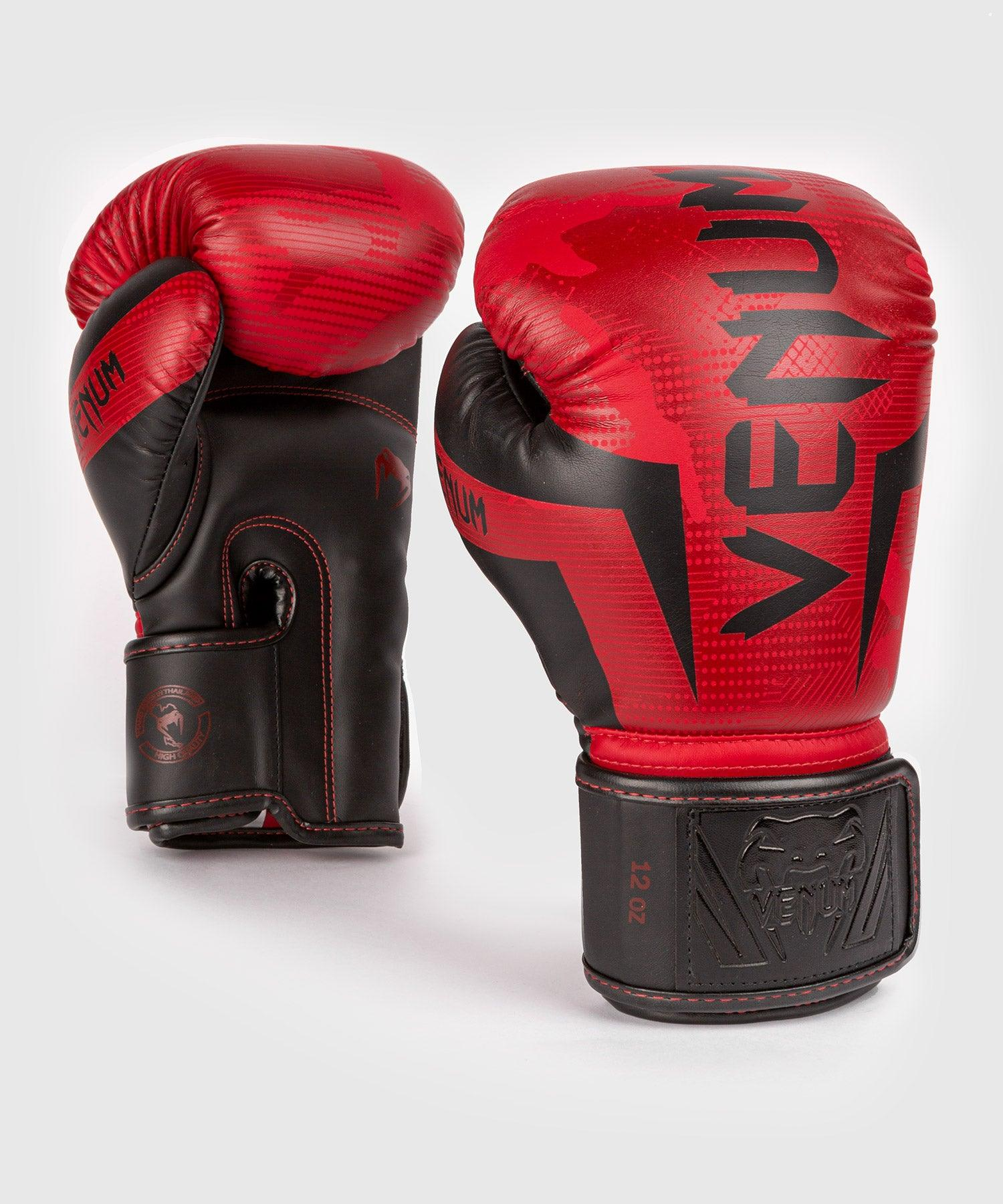 Venum Elite Boxing Gloves - Red Camo picture 1