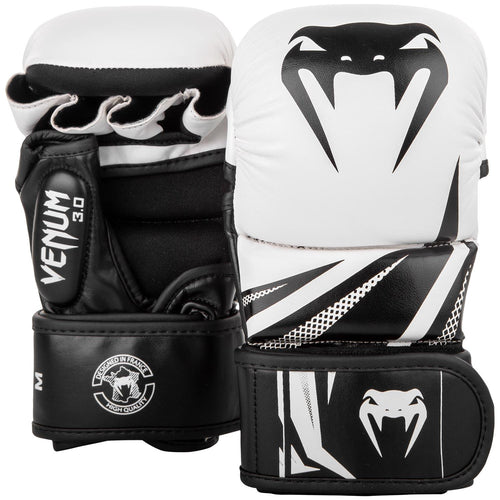 Sparring Gloves Venum Challenger 3.0 – White/Black picture 1