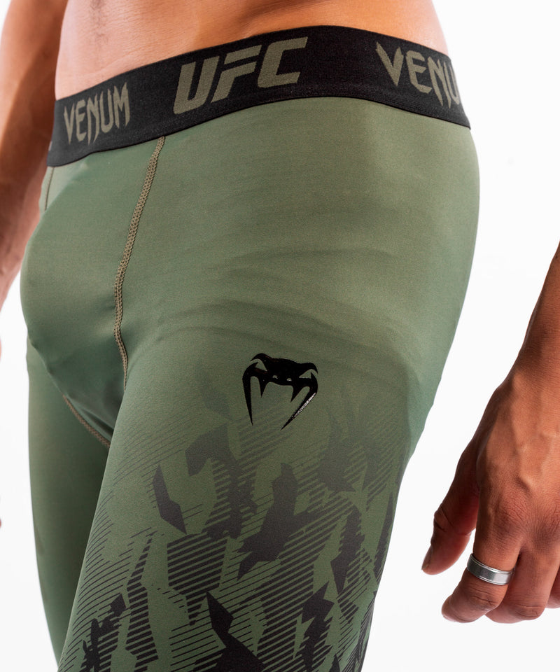 UFC Venum Authentic Fight Week Men's Performance Vale Tudo Shorts – Khaki Picture 5