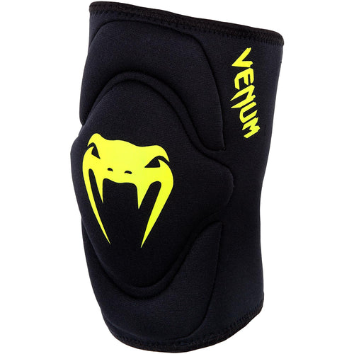 Venum Kontact Gel Knee Pad - Black/Neo Yellow picture 1