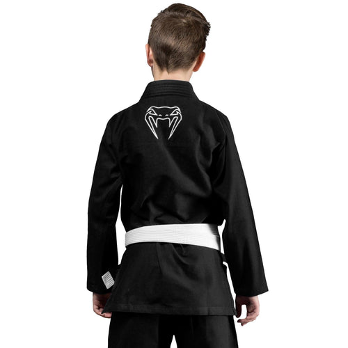 Venum Contender Kids BJJ Gi (Free white belt included) – Black picture 2