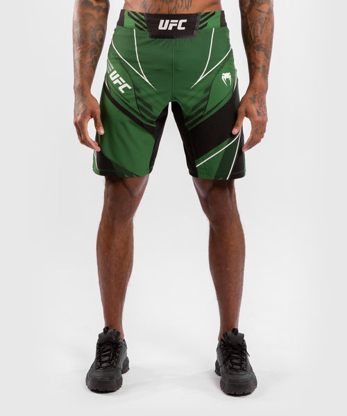 UFC Venum Authentic Fight Night Men's Shorts - Long Fit – Green Picture 1