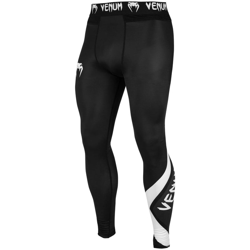 Venum Contender 4.0 Spats – Black/Grey-White picture 1
