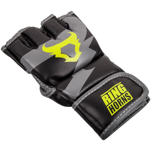 Ringhorns Charger MMA Gloves - Black/Neo Yellow picture 2