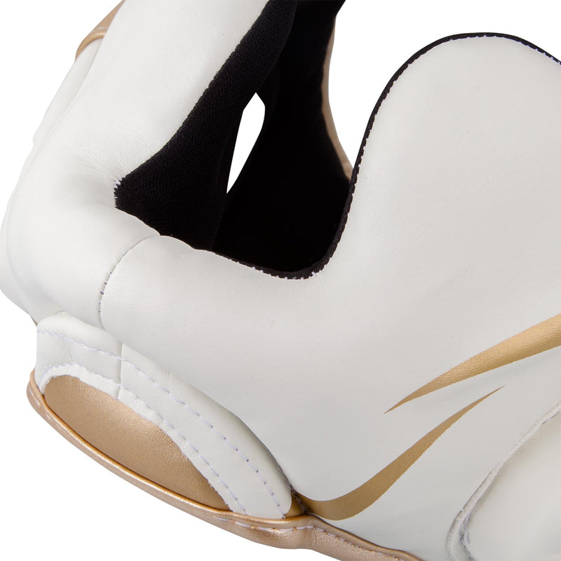 Venum Elite Headgear-White/Gold picture 7