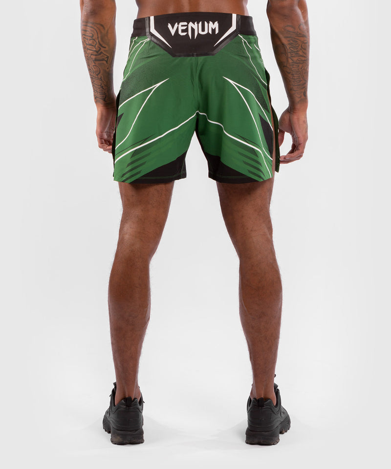 UFC Venum Authentic Fight Night Men's Gladiator Shorts – Green Picture 2