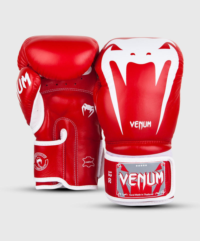 Venum Giant 3.0 Boxing Gloves - Nappa Leather - Red picture 2