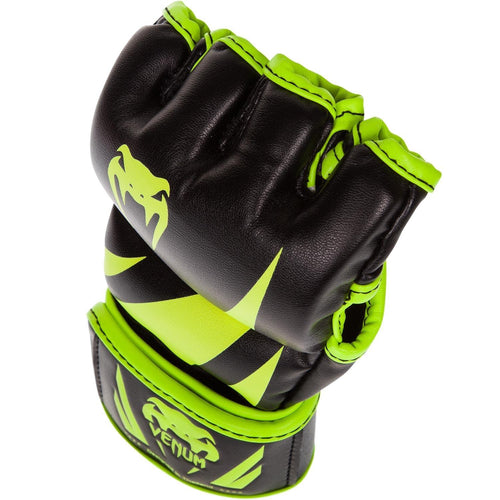 Venum Challenger MMA Gloves - Neo Yellow/Black picture 2