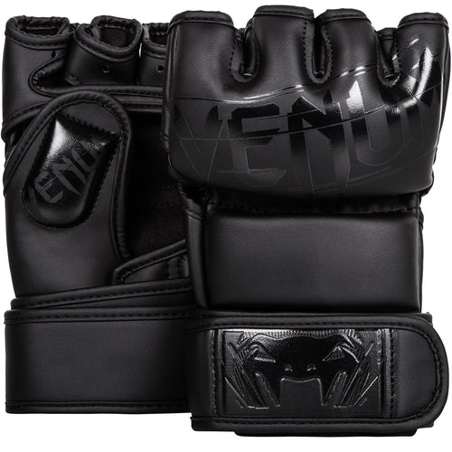 Venum Undisputed 2.0 MMA Gloves – Matte/Black picture 1